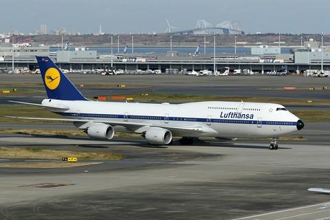 D-ABYT B747-8IC DLH Lufthansa's 60th Retro Livery RJTT