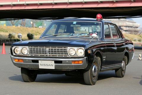 車両展示 日産 グロリア 第40回警視庁白バイ安全運転競技大会