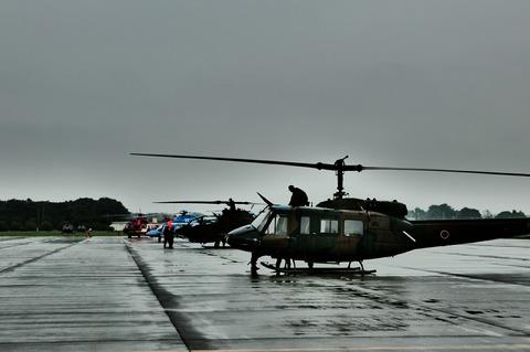 地上展示機 陸上自衛隊 立川防災航空祭 立川駐屯地