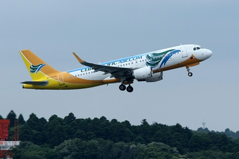 RP-C3275 A320-200 CEB RJAA
