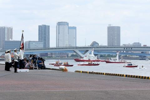 第69回 東京みなと祭 水の消防ページェント 開会式
