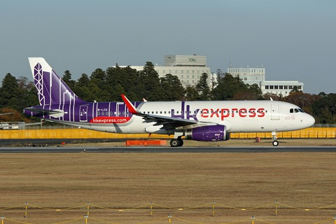 B-LCG A320-200 HKE RJAA