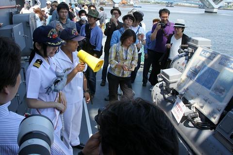 水上発射管 DD-107 護衛艦 いかづち 一般公開 第69回 東京みなと祭