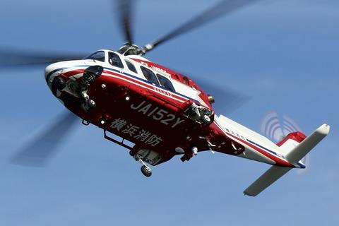 JA131Y JA152Y AW139 横浜消防出初式