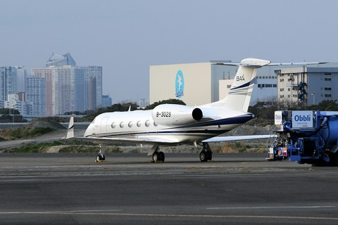 B-3029 Gulfstream G450 RJTT