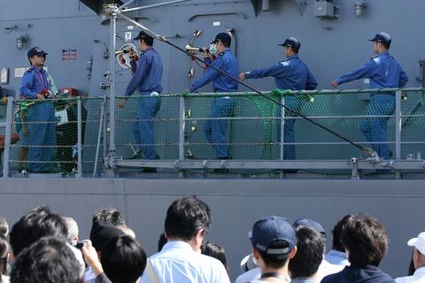 ラッパ実演 DD-110 護衛艦 たかなみ 一般公開 第44回 川崎みなと祭り