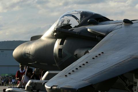 165573 AV-8B Harrier II 岩国基地フレンドシップ・デー2017
