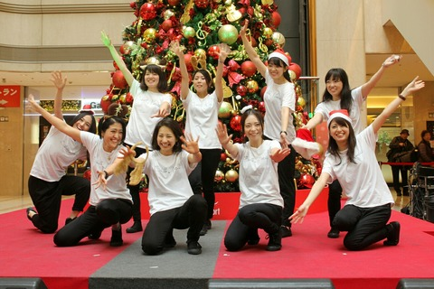 SFJ ダンスパフォーマンス Stella Maris 羽田空港クリスマスイベント