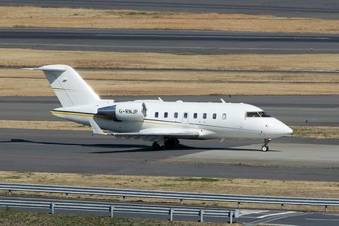 G-RNJP Bombardier CL-600 Challenger605 RJTT