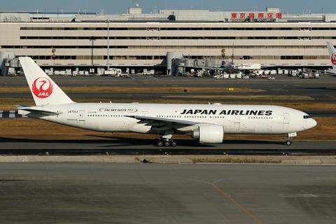 JA701J B777-200 JAL JAL SKY SUITE 777 RJTT