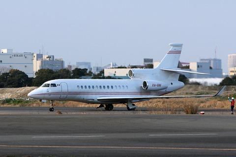 XA-GNI Dassault Falcon 7X RJTT