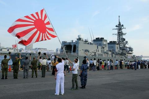 DD-107 護衛艦 いかづち 出航 第69回 東京みなと祭 晴海埠頭