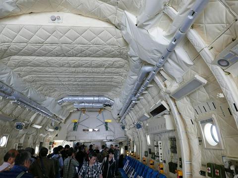 航空自衛隊 C-2 輸送機 機内公開 アメリカ空軍 横田基地日米友好祭