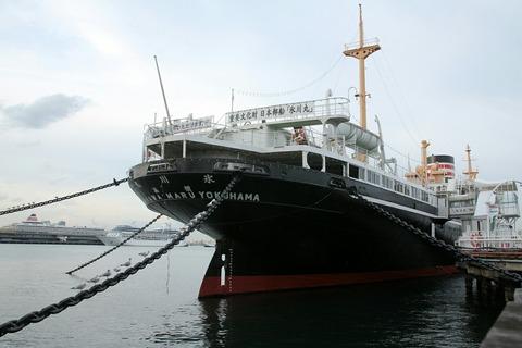 氷川丸 山下公園 ノーティカ 飛鳥Ⅱ 横浜大桟橋
