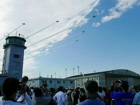 ブルーインパルス 入間航空祭2018 航空自衛隊 入間基地