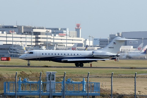N60XC Bombardier BD-700 Global6000 RJTT