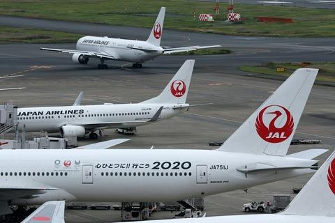 JAL 心ひとつに!! 行こう2020塗装機 Two-Shot RJTT