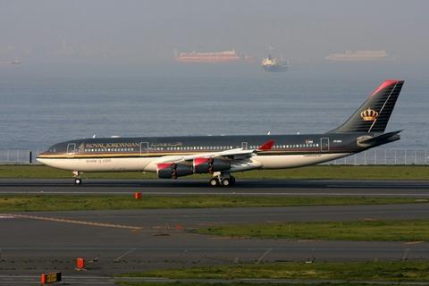 JY-AIC A340-200 RJA RJTT V.I.P.Flight 2009.4.12