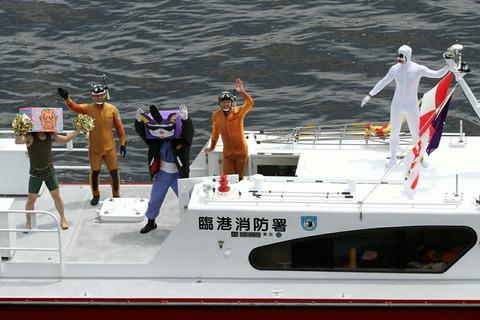 臨港消防署「はるみ」 フェアウェルパレード 東京みなと祭