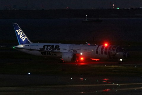 JA873A B787-9 ANA R2-D2 ANA JET RJTT 国内線運航