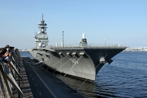 DDH-183 護衛艦 いずも 横浜開港祭 横浜大桟橋