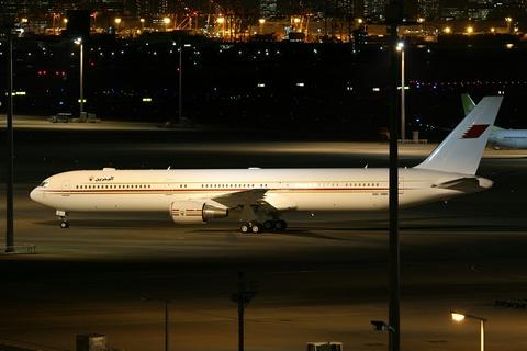 A9C-HMH B767-400 BAH RJTT V.I.P.Flight