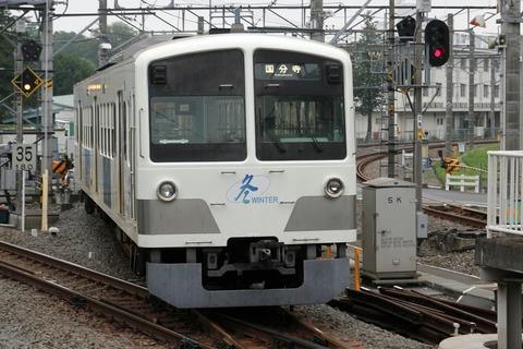西武新101系電車 冬WINTER 萩山駅