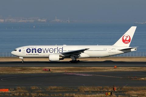 JA771J B777-200 JAL one world RJTT