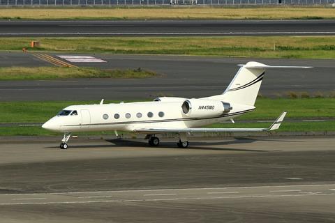 N445MD Gulfstream RJTT