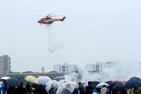 JA119B Eurocopter AS332L1 東京消防庁 ひばり 立川防災航空祭