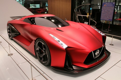 NISSAN CONCEP 2020 VISION gran turismo NISSAN CROSSING