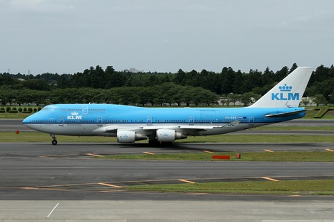PH-BFK B747-400 KLM RJAA 2013.7.20