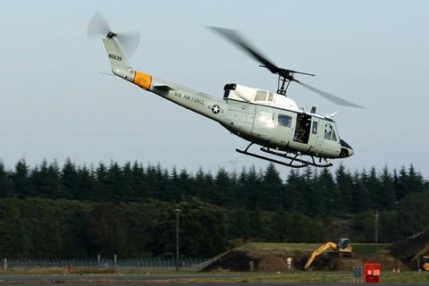 69-6639 UH-1N 帰投 入間航空祭2017 航空自衛隊 入間基地