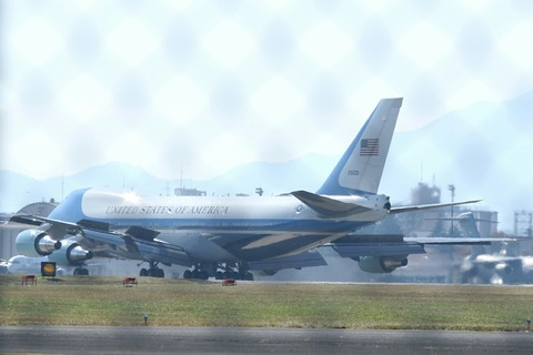 92-9000 VC-25 USAF Air Force One RJTY V.I.P.Flight