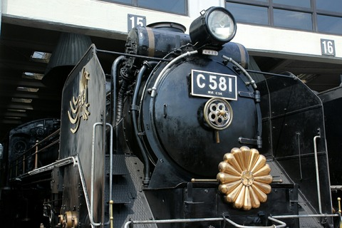 C58 1 蒸気機関車 梅小路蒸気機関車館