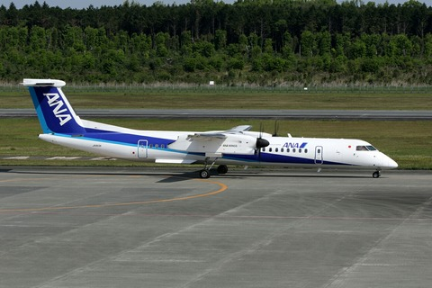 JA853A Bombardier DHC-8-400 AKX RJFT