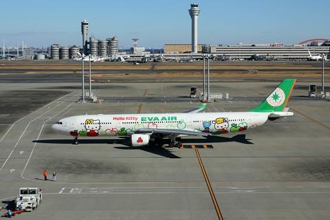 B-16332 A330-300 EVA Apple RJTT