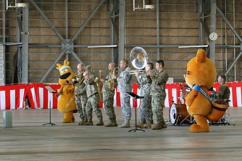 在日米陸軍軍楽隊 第44回 木更津航空祭 陸上自衛隊 木更津駐屯地