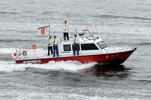 臨港消防署 高速指揮艇 「はやて」 東京みなと祭