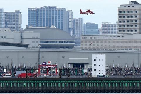 消防演技 東京消防出初式 東京ビッグサイト 南千石橋