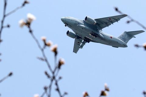 C-2 航空自衛隊 祝賀飛行 フランス航空教育団来日100周年記念