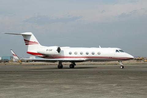 VP-CAP Gulfstream G350 RJTT