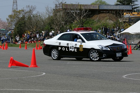 交通パトカー走行競技 第41回警視庁白バイ安全運転競技大会