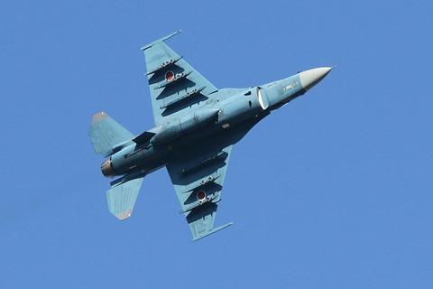 43-8528 F-2A 帰投 入間航空祭2017 航空自衛隊 入間基地