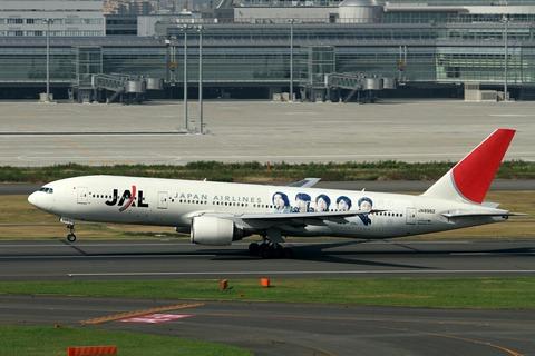 JA8982 B777-200 JAL ARASHI JET RJTT 2010.9.