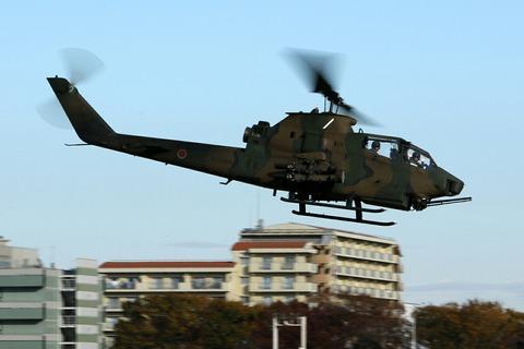 73446 AH-1S 帰投 陸上自衛隊 立川防災航空祭 立川駐屯地