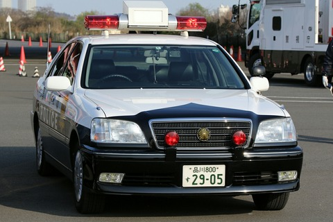 車両展示 トヨタ クラウン 第40回警視庁白バイ安全運転競技大会