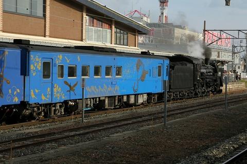 キハ142-701 SL銀河 花巻駅