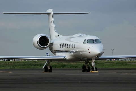 VP-CKG Gulfstream G550 RJTT