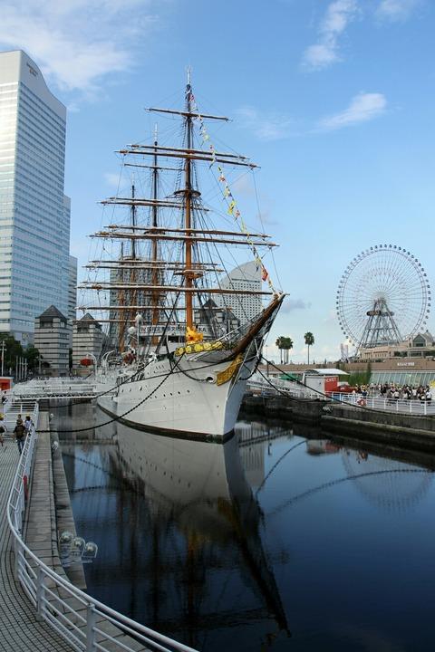 ピカチュウ大量発生チュウ! 帆船 日本丸 日本丸メモリアルパーク